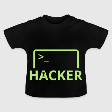 Hackers Internet Computer Science hack computer science - Baby T-Shirt