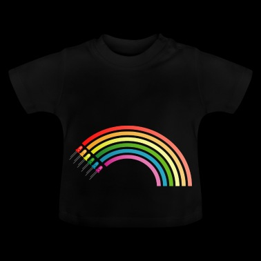 LED Rainbow - Baby T-Shirt