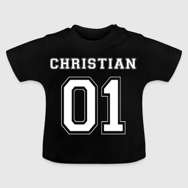 Christian 01 - White Edition - Baby T-Shirt