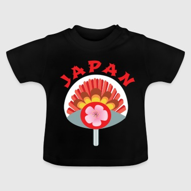 Japan til Asien fans, fan som en gave - Baby T-shirt