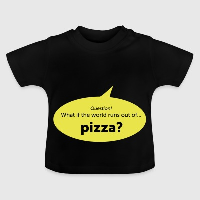 pizza - Baby-T-shirt