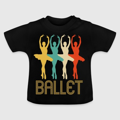 Awesome Retro Pop Art Ballet Gifts for Ballerinas - Baby T-Shirt
