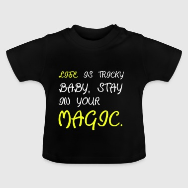 Magic magic magician magic spell magic abra - Baby T-Shirt