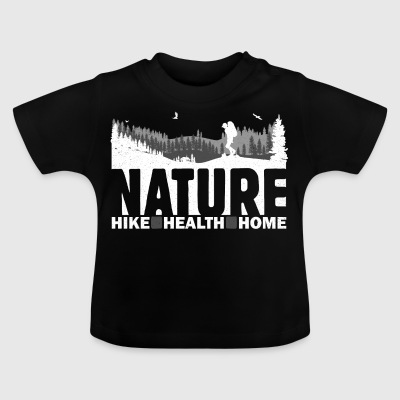 SHIRT FOREST Hike BlackT - Baby T-Shirt
