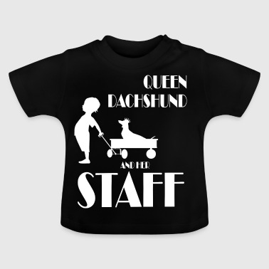 queen Dachshund shorthair - Baby T-Shirt