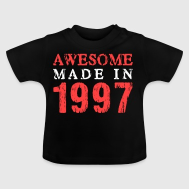 awesome made in 1997 - Baby T-Shirt