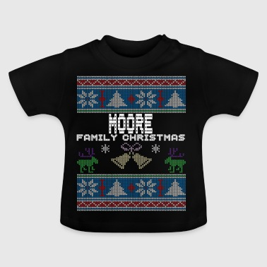 Ugly Moore Christmas Family Vacation Tshirt - Baby T-Shirt
