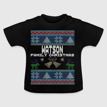 Ugly Watson Christmas Family Vacation Tshirt - Baby T-Shirt