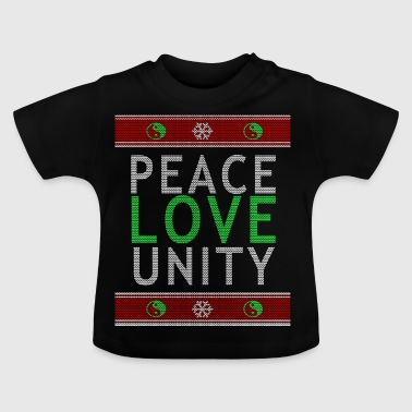 Peace Love Community Sweater - Baby-T-shirt