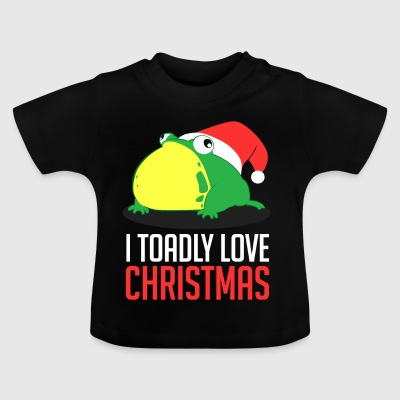 Jag Toadly Love Christmas Xmas Holiday - Baby-T-shirt
