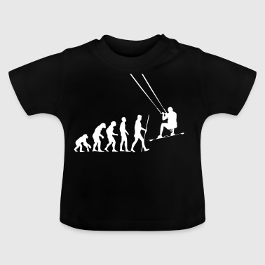 Evolution Kitesurfing as a gift - Baby T-Shirt