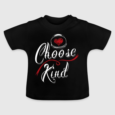 Choose Kind Shirt Anti Bullying - T-shirt Bébé