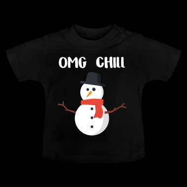 OMG Chill-cadeau voor Chill People - Baby T-shirt