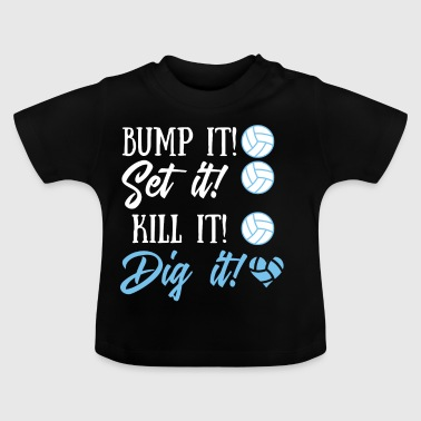 Volleyball T-Shirt - Geschenk - Beachball - Baby T-Shirt