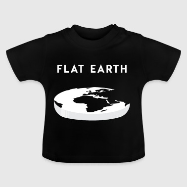 Regalo Flat Earth per Flat Earthers - Maglietta per neonato