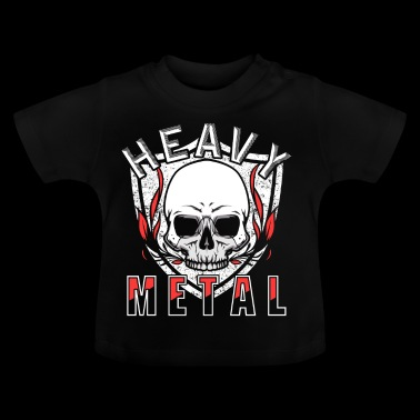 heavy metal - Camiseta bebé