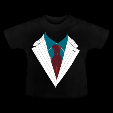 Suit suite gelegenheid gekleed in elegante - Baby T-shirt