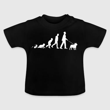 French Bulldog Gifts Grow Evolution Man - Baby T-Shirt