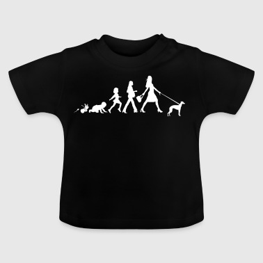 Italian Greyhound Gifts Grow Evolution Woman - Baby T-Shirt