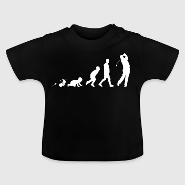 Golf Golfaren roliga skjorta gåvor Grow Evolution - Baby-T-shirt