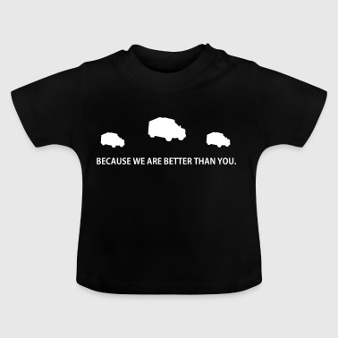 BETTER THAN YOU GIFT rettungssanitaeter sanitaeter - Baby T-Shirt