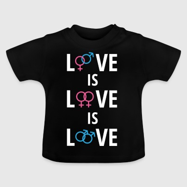 Gay - Love - Biseksuel - Gay - Gay Pride - Baby T-shirt