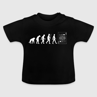 Poker Evolution Geschenk - Baby T-Shirt