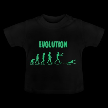 Evolution - Zombie - Undead - Grappig - Cool - Baby T-shirt