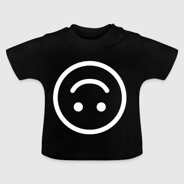 glad smiley glad joyful - Baby-T-shirt
