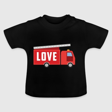 FIREFIGHTER LOVE - Baby-T-skjorte