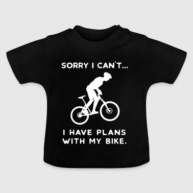 Cyclist Bike Mountain Bike Bike Biker Cycling - Baby T-Shirt