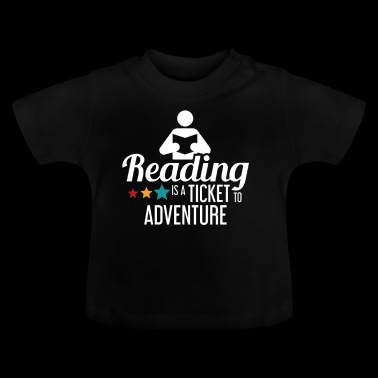 READING - READING - READING - BOOKSHOP - BOOKS - Baby T-Shirt