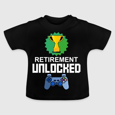 Level Unlocked Pension Pension Gamer Gift Gaming - Baby T-Shirt
