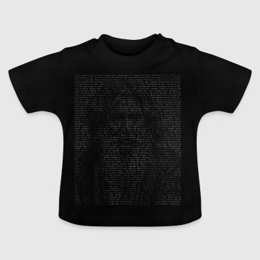 lettertype - Baby T-shirt