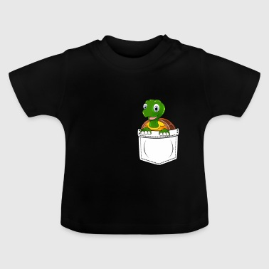 Turtle Reptiles Chest Bag Gift Kawaii - Baby T-Shirt