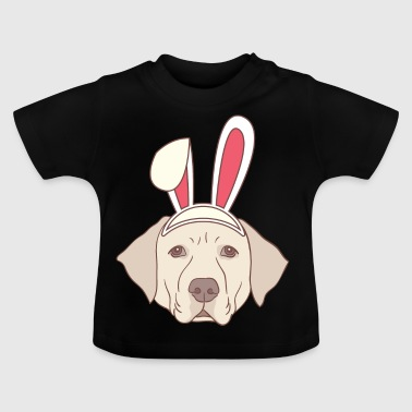 Labrador Osterhase Frohe Ostern Geschenk Hase - Baby T-Shirt