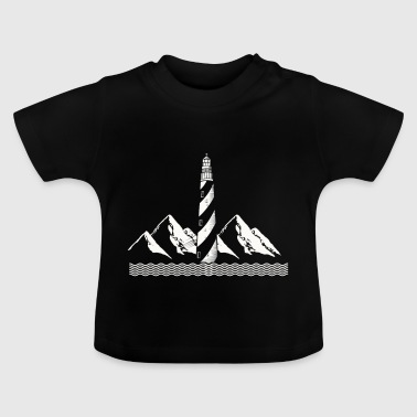 Lighthouse Östersjöns strand present Tower - Baby-T-shirt