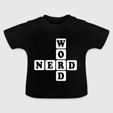 Word Nerd Word Game Gift - Baby T-Shirt