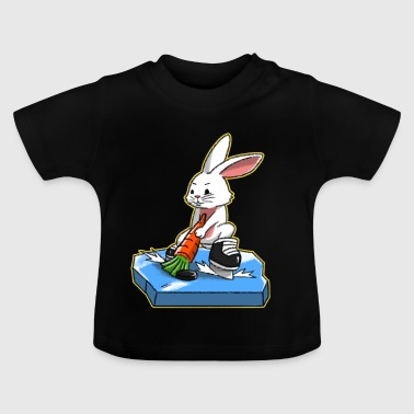 I love Hockey Ice Hockey Happy Easter Gift - Baby T-Shirt