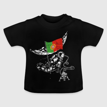 Portugal conquers space - Baby T-Shirt