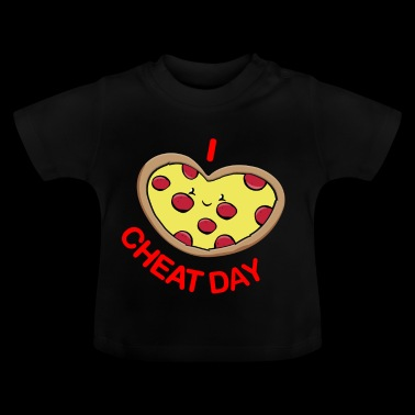 Snyde dag pizza - Baby T-shirt