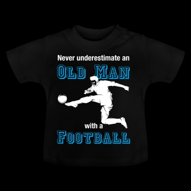 Old soccer player T-shirt soccer farewell - Baby T-Shirt