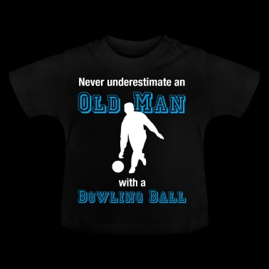 Old Bowler T-Shirt Bowler Oldie Farewell - Baby T-Shirt