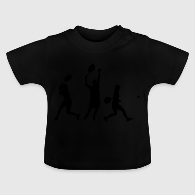 Tennis in action - Baby T-Shirt