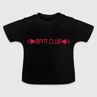BPM Club cult motief - Baby T-shirt