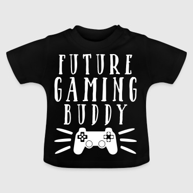 Future Game Buddy far son - Baby-T-shirt