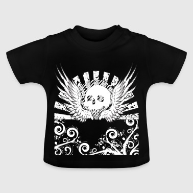 Skull Skull Metal Gothique Hard Rock Heavy Metal - T-shirt Bébé