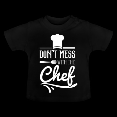 Chef Chef Chef Chef cooking - Baby-T-shirt