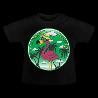 Flamingo Heaven - Baby T-Shirt