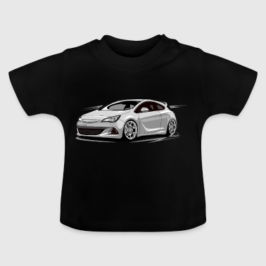 Astra J OPC ohne fahrer - Baby T-Shirt